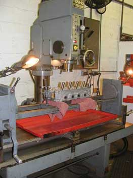 Peterson TM40 Seat and Guide Machine